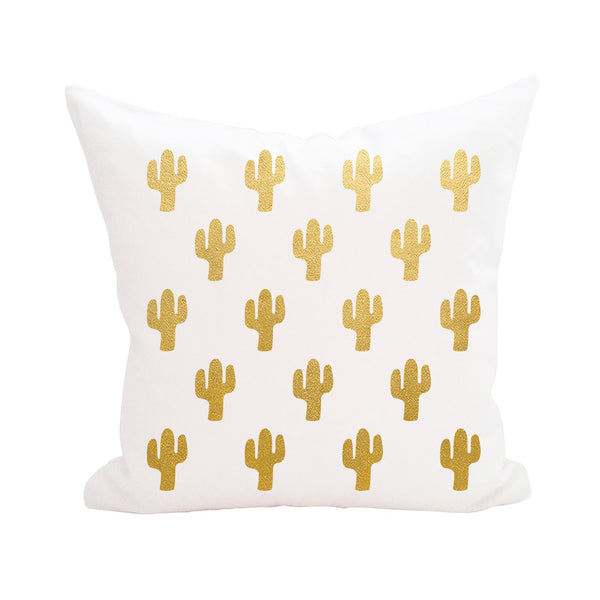 Cactus Print Pillow Cover