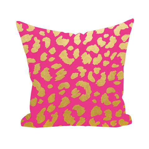 Cheetah Print Pillow Cover