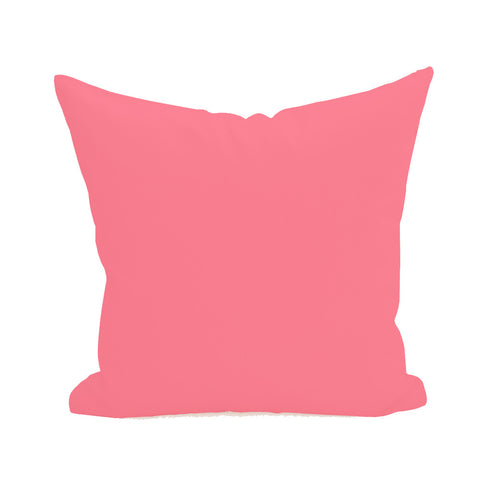 Blank Pillow Cover - Coral 3pk