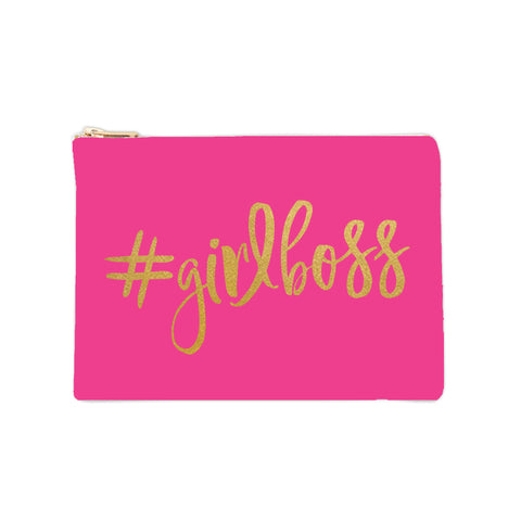 Cosmetic Bag - #GIRLBOSS 1pk