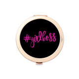 #GIRLBOSS Gold Compact Mirror Holder 1pk