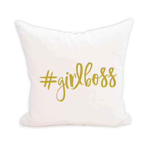 #GIRLBOSS Pillow Cover - 1pk