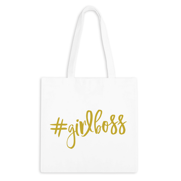 #GIRLBOSS Zippered Tote Bag - 1pk