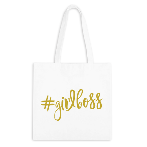 #GIRLBOSS Zippered Tote Bag - 3pk