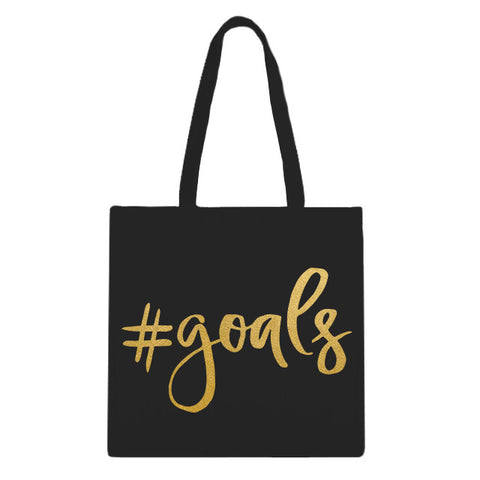 Goals Tote Bag