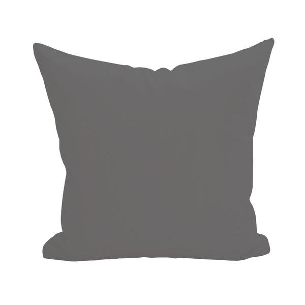 Blank Pillow Cover - Gray 1pk