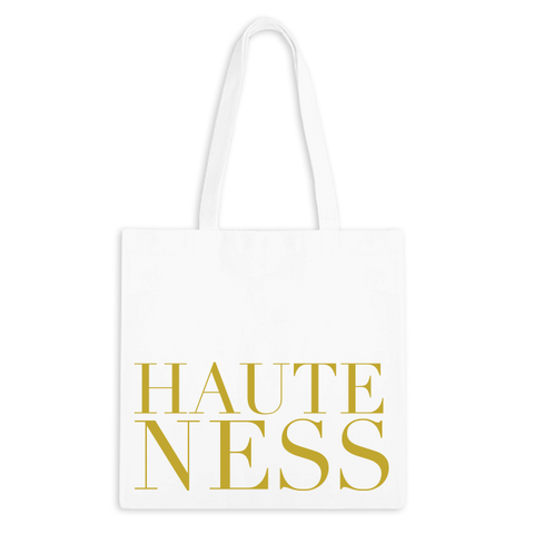 Hauteness Zippered Tote Bag - 1pk
