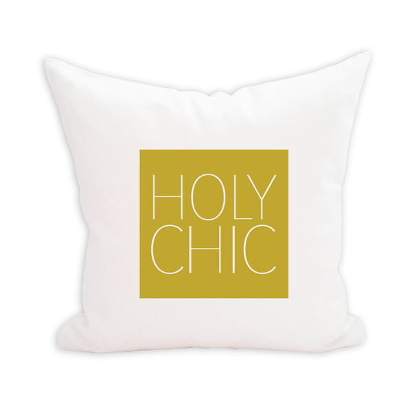 Holy Chic Pillow Cover - 1pk