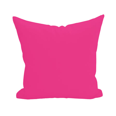 Blank Pillow Cover - Hot Pink 1pk