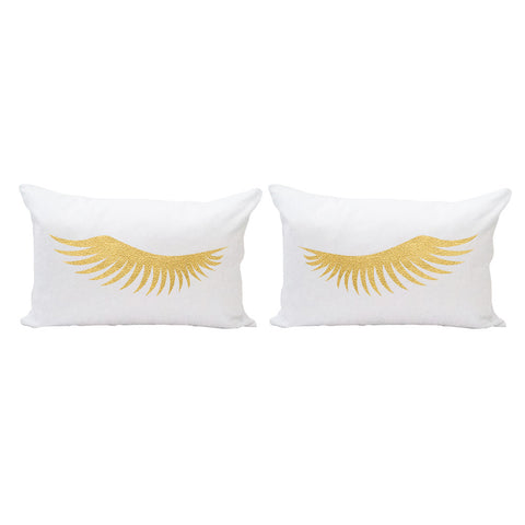 Lashes Pillow Cover Set