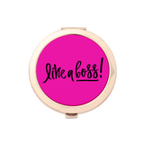 Like A Boss! Gold Compact Mirror Holder 1pk