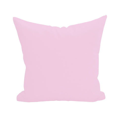 Blank Pillow Cover - Light Pink 1pk