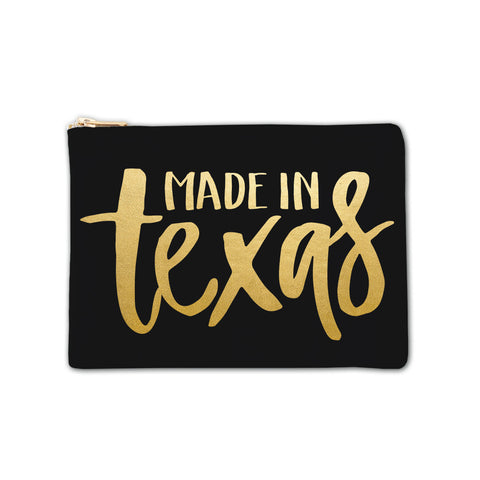 Cosmetic Bag - Made in Texas