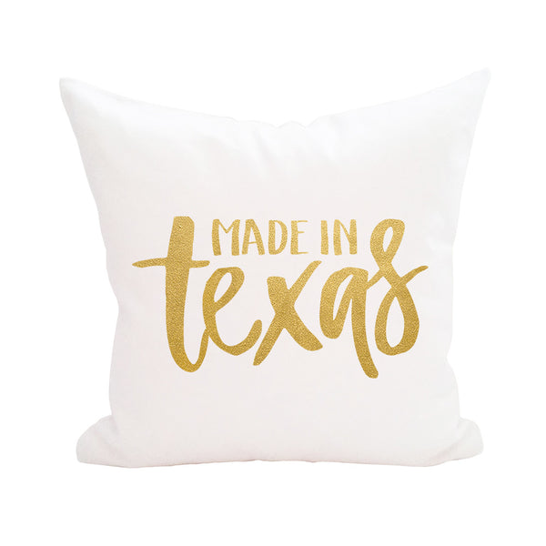 Made in the Texas Pillow Cover