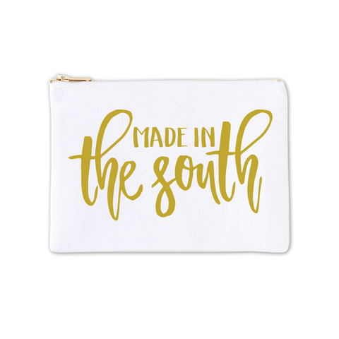 Cosmetic Bag - Made in the South 3pk