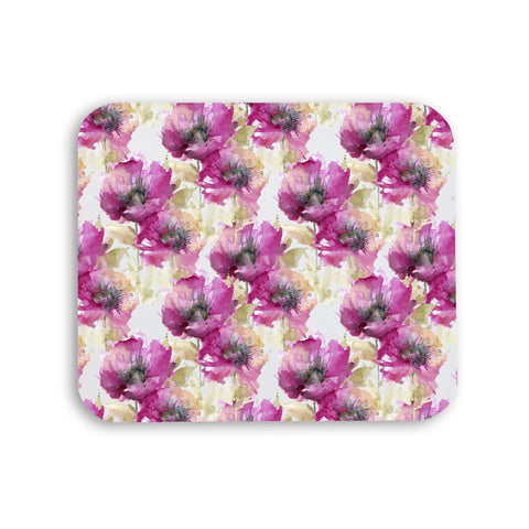 Mousepad - Hints of Fall Watercolor Floral