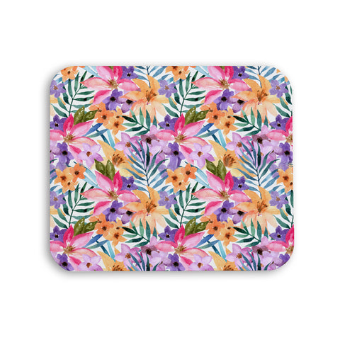 Mousepad - Summer Warmth Watercolor Floral