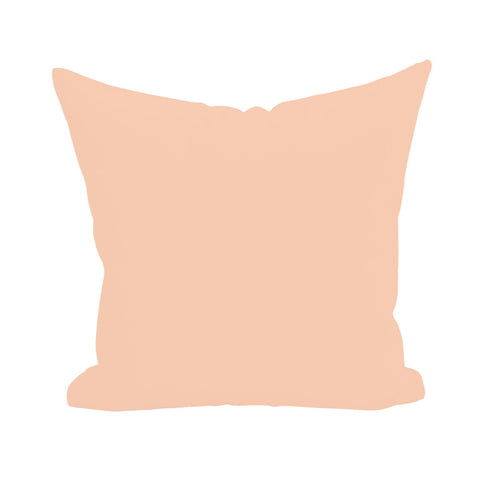 Blank Pillow Cover - Peach 1pk