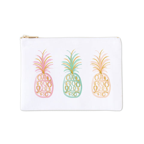 Cosmetic Bag - Pineapple Dreams in Color