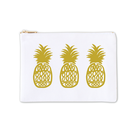 Cosmetic Bag - Pineapple Dreams 3pk