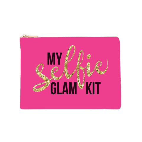 Cosmetic Bag - Selfie Glam Kit 6pk