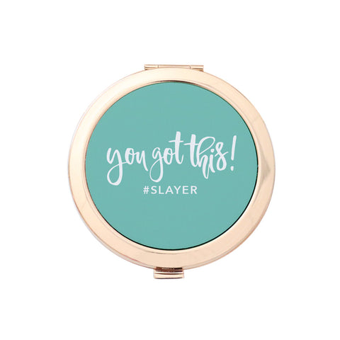 Gold Compact Mirror - You Got This!