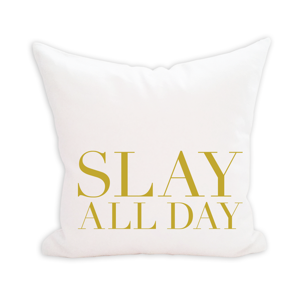 Slay All Day Pillow Cover - 1pk