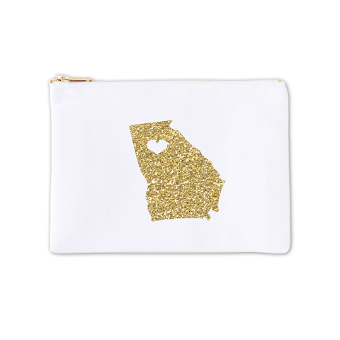 Cosmetic Bag - Glitter Stateside 3pk