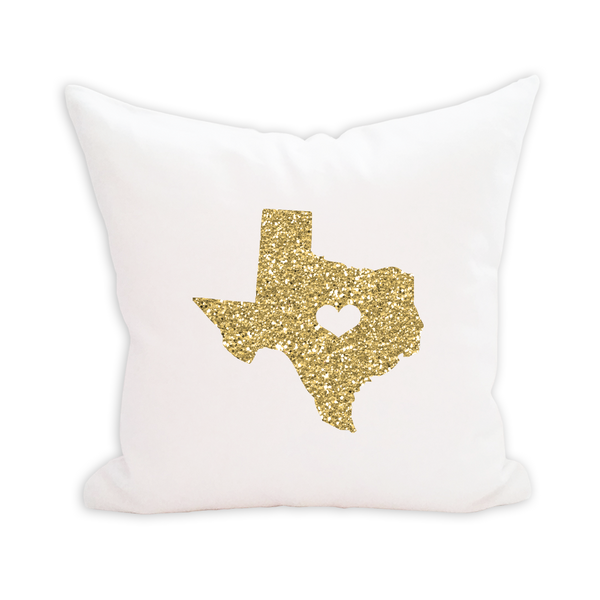 Glitter Stateside Pillow Cover - 1pk