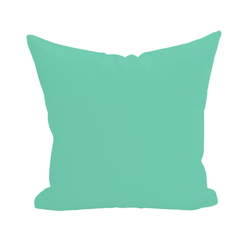 Blank Pillow Cover - Teal 1pk