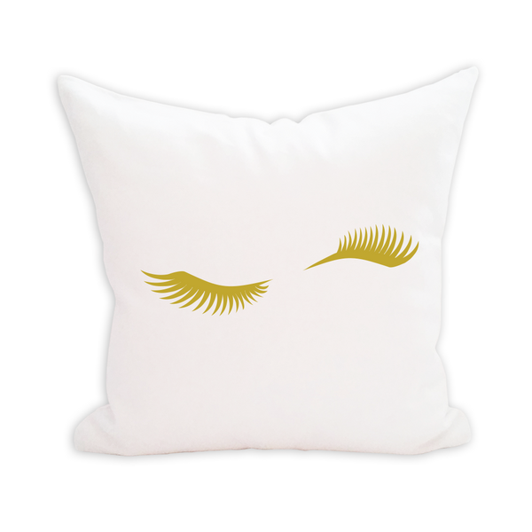 Wink Lashes Pillow Cover - 3pk