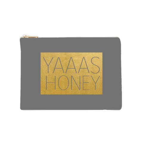 Cosmetic Bag - Yaaas Honey - 6pk