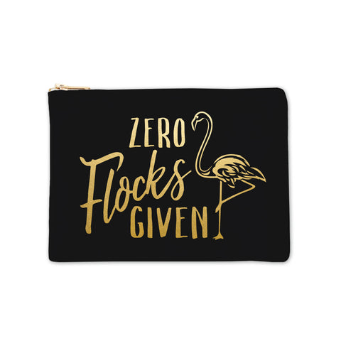 Cosmetic Bag - Zero Flocks Given