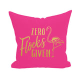 Zero Flocks Given Pillow Cover