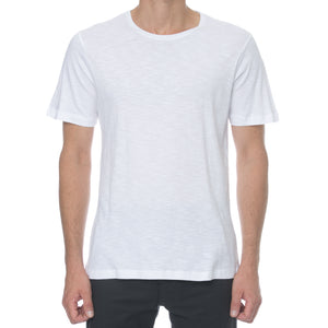 White Slub T-Shirt