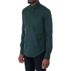 Emerald Twill Shirt