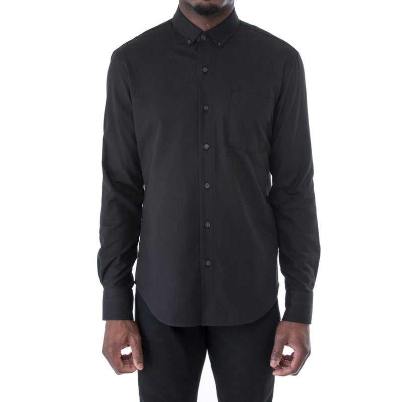 Black Twill Shirt