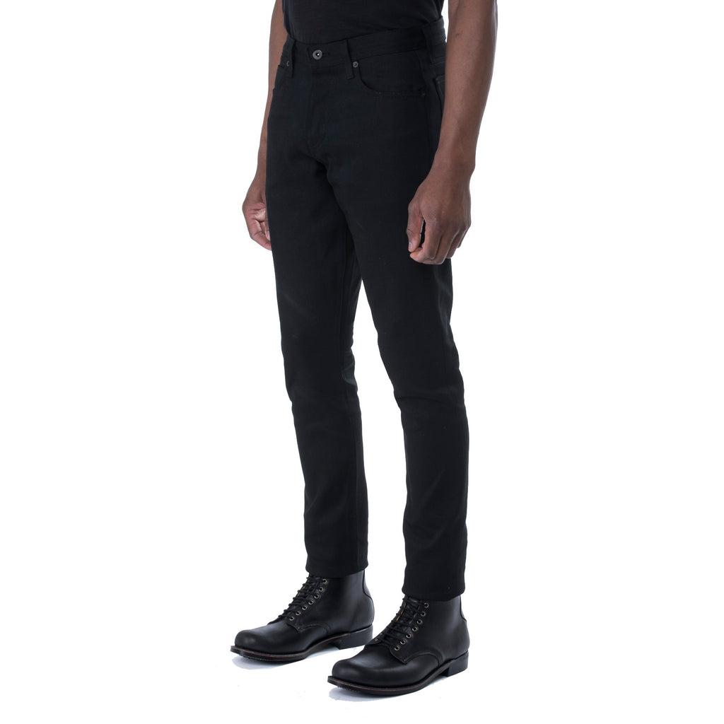 HT Black Stretch 12 oz. Denim