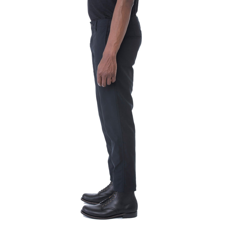 Black Dobby HT Chino Trouser