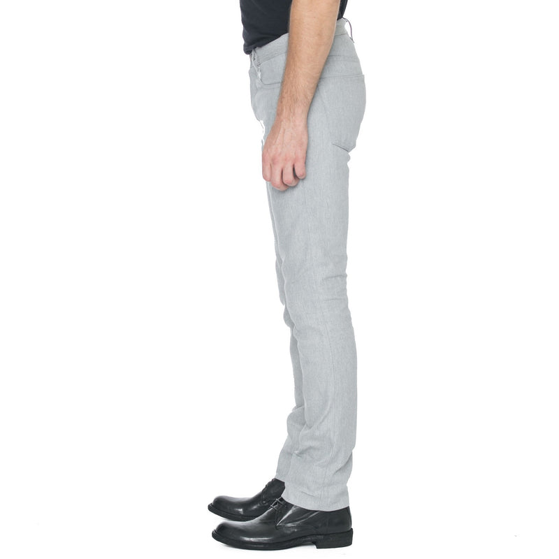 Slight Fit Arctic Grey Selvage Denim