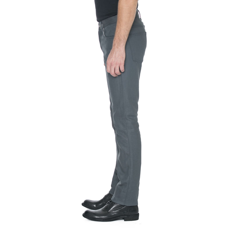 Slight Fit Grey Selvage Denim
