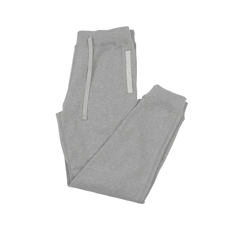 Grey Melange 16 oz Cotton Terry Sweatpant