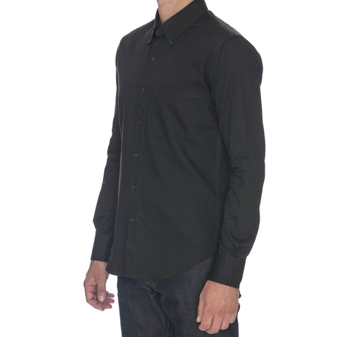 Heather Jacquard Camo Long Sleeve Shirt