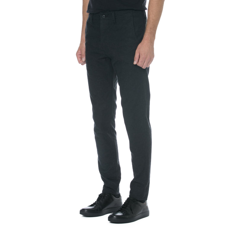 Charcoal Flannel HT Chino Trouser
