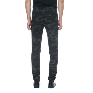 Black Jacquard Camo Chinos - Sydney's, Toronto, Bespoke Suit, Made-to-Measure, Custom Suit,