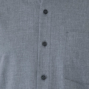 Grey Herringbone Shirt