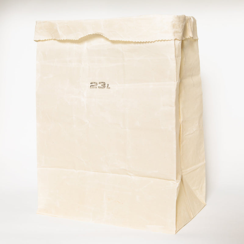 Waxed Canvas Grocery Bag, 23L