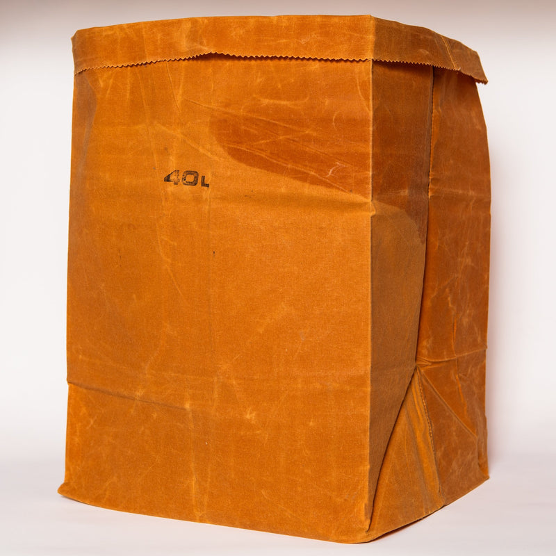 Waxed Canvas Grocery Bag, 40L