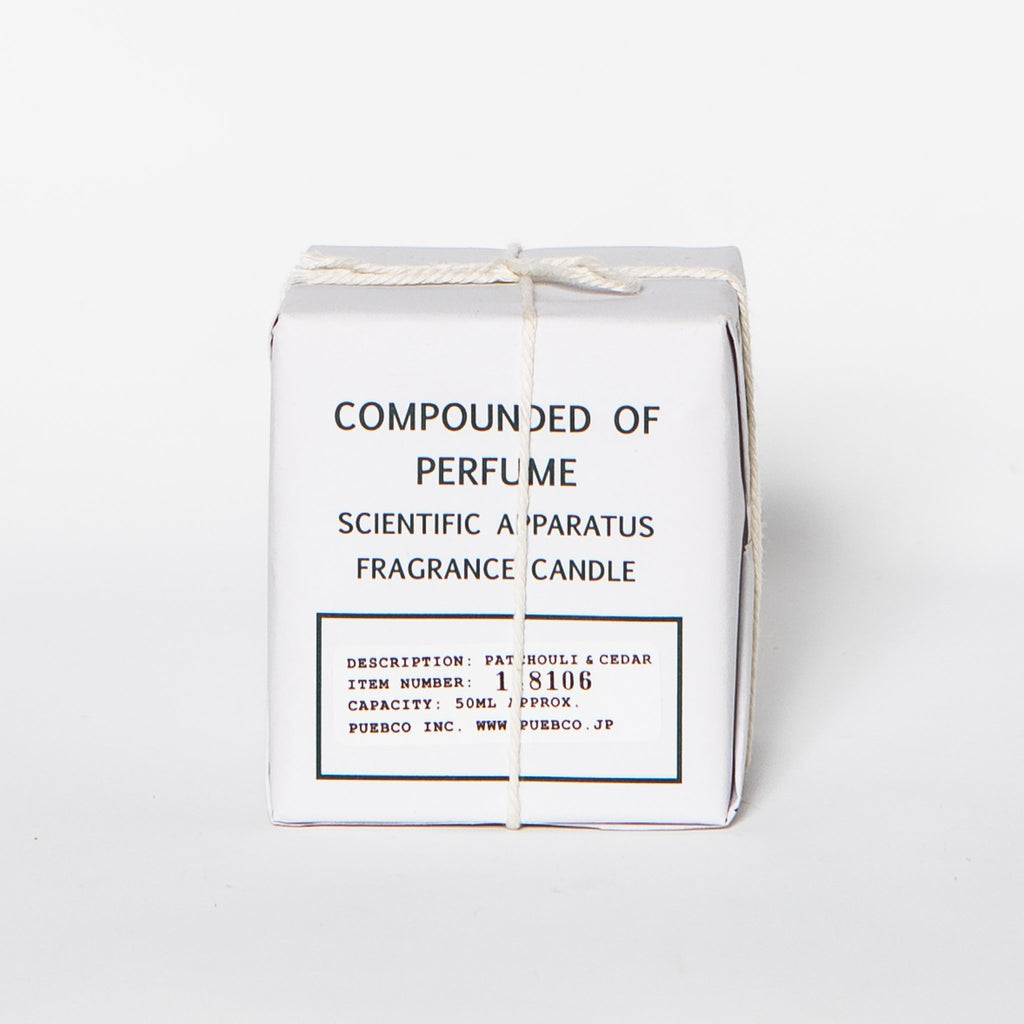 Scientific Candle, Patchouli and Cedar