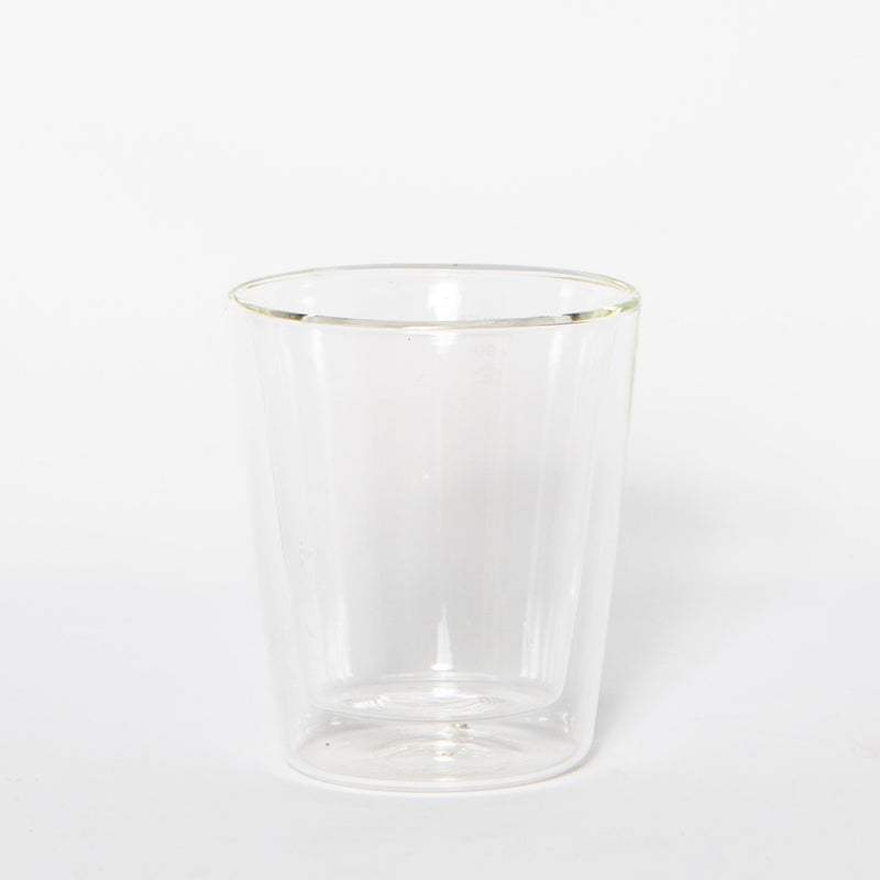 Glass Double Wall Cup